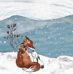 friendship Moose Art, Friendship, Illustration, Animals, Animales, Animaux, Illustrations, Animais, Animal
