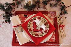 Dining In Style ~ Holiday Touches - by Goodwill Home Decor Expert Merri Cvetan