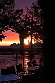 Friedrichshafen, Bodensee, Sunset