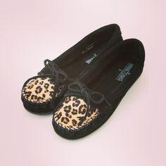 Leopard Moccasins