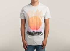 """Summer Nights"" - Threadless.com - Best t-shirts in the world"
