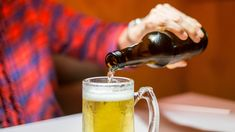 The study tracked the drinking habits people between the ages of 35 and 55 and their subsequent mental health. Buy Bmw, Mineral Water, Red Wine, Liquor, Drinking, Alcoholic Drinks, Mugs, Bottle, Whiskey