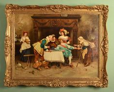 What should you look for in Antique Oil Paintings during their identification? Here is Quick Tips: How to Identify Antique Oil Paintings. Antique Buyers, Soap Boxes, Antique Paint, Muted Colors, Famous Artists, View Image, Art Nouveau, Floral Design, Art Pieces