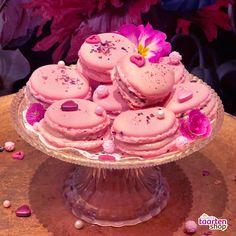 Valentijn macarons | Gemaakt door Ine Paauw (Heel Holland Bakt 2017) in samenwerking met Deleukstetaartenshop