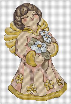 "Вышивка ""signs of the zodiac"" children's horoscope cross sti Cross Stitch Angels, Cross Stitch Heart, Minnie Baby, Little Cherubs, Cross Stitch Pictures, Christmas Cross, Christmas Projects, Cross Stitching, Needlepoint"