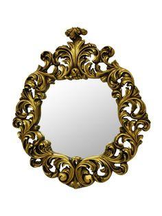 Antoinette Mirror- Gold Leaf