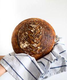 Domowy chleb - ZAKWAS - Przepis i instrukcja krok po kroku Sushi, Bread, Brot, Baking, Breads, Buns, Sushi Rolls