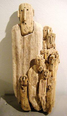 Marc Bourlier - Divinity, 2011 - wood
