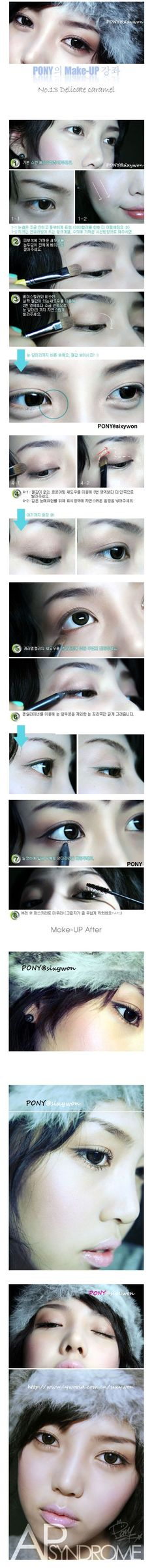 beauty make up tutorials by the ulzzang pony pony s makeup book on ...
