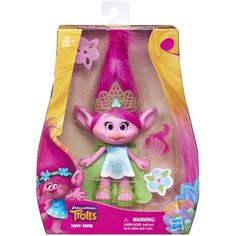 """DreamWorks Trolls Poppy 9"""" Figure"""