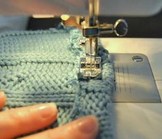 How To Cut a Sweater and Secure The Yarn So it Doesnt Unravel Button Up Cardigan Cowl Old Sweater Refashion