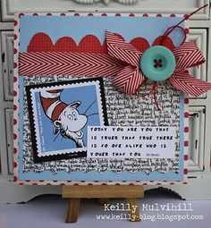 Dr Suess themed card