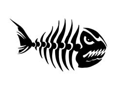 Bubble Guppies Printable Coloring Pages Eagles Plasma Cutter Art, Fish Skeleton, Cardboard Box Crafts, Bone Crafts, Fish Logo, 1 Tattoo, Free Stencils, Stencil Patterns, Sea Fish
