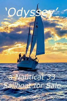 The 'Odyssey' is a much sought after Nauticat 33. (hull # 907 manufactured in 1984) and is fully outfitted for blue water offshore sailing. The Nauticat 33 was the first boat produced by Siltala and one of the most successful. This Nauticat is truly a turn-key vessel.