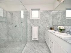 Marvelous Grey, White U0026 Silver Bathroom