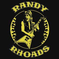 Randy Rhoads (Flames) Colour