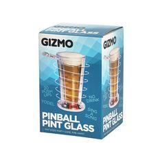 Gizmo Pin Ball Pint Glass