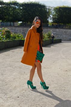 ALL THE PRETTY BIRDS: PFW SS13 Street Style // Tina Leung