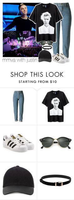 """don't read this"" by annefs1 ❤ liked on Polyvore featuring Justin Bieber, adidas, Ray-Ban, Canali and country"