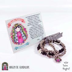 Pulsera Triple Virgen de Guadalupe - Salve Regina — Salve Regina