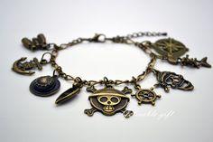 One Piece charms bracelet
