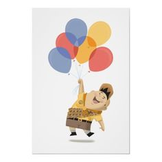 must get for quinns room! Russell Watercolor concept art - Disney Pixar UP Poster by disney