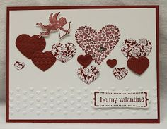 All Stamping World: Stampin' Up Valentine cards