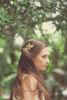 0acad6bfb6b9 Gold Boho Bridal Hair Accessories Bohemian Bridal by EchoandLaurel
