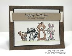 Stampin' Up! NEW We Must Celebrate Card – Stamp It Up with Jaimie