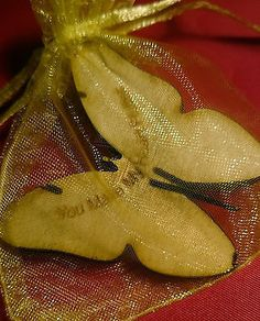 Little Bag of: Love Message on Butterfly a Gift-Keepsake - Heart Flutter Wedding Favours, Wedding Gifts, Valentines Presents, Heart Flutter, Little Bag, Love Messages, Birthday Gifts, Butterfly, Cards