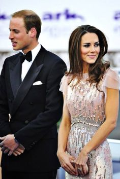 William & Kate Middleton | An incredibly stand-up and fashionable couple.