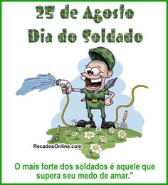 dia do soldado frases