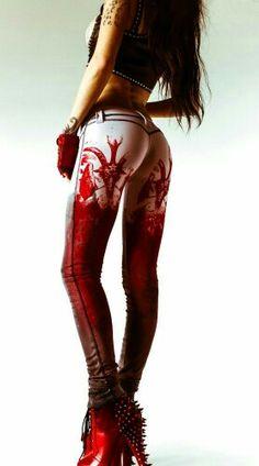 Bloody Baphomet pants