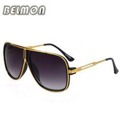 b442af4d65 Fashion Sunglasses Men Women Luxury Brand Designer Sun Glasses Ladies  Oversized Oculos UV400 Photochromic For Female RS168