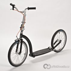 Scooter (footbike)   koloběžka – Swifty One – full review > Priblizovadla.cz