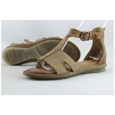 b7f0c440f5e9 Check out  Born Timina Women US 8 Tan Gladiator Sandal Pre Owned  Computer  Accessories