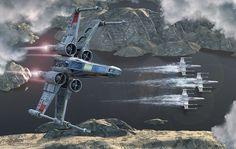 Stunning Star Wars Artworks by Kurt Miller