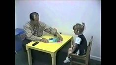 This video from 1997 shows Dr. Vincent J. Carbone, Ed., BCBA-D working with a child with autism. The child moves from very uncooperative and non-verbal to . Behavioral Analysis, Behavioral Therapy, Children With Autism, Working With Children, Asd, Aba Training, Communication Development, Holly Johnson