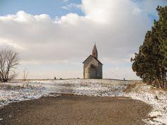 Nitra očami Nitrančana: Drážovský kostolík v zime