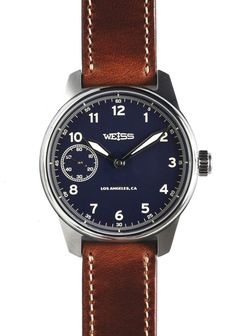 TimeZone : Industry News » N E W M o d e l - Weiss Limited American Issue Field Watch Blue