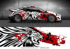 Find Car Wrap Decal Vinyl Sticker Designs stock images in HD and millions of other royalty-free stock photos, illustrations and vectors in the Shutterstock collection. Thousands of new, high-quality pictures added every day. Air Brush Painting, Car Painting, Auto Design, Car Stickers, Car Decals, Vinyl Decals, Car Iphone Wallpaper, Vinyl Wrap Car, Vinyl For Cars