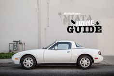 Very useful checklist of what to look for when buying a Miata. The RallyWays Miata Buying Guide can help you choose the right Miata for you. Take a look.