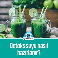Detoks suyu nasıl hazırlanır? #detox #detoks #sağlık #beslenme @faydalibilgin