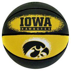 d494d2f68a1 Wilson University of Iowa Hawkeyes NCAA 7-inch Mini Basketball