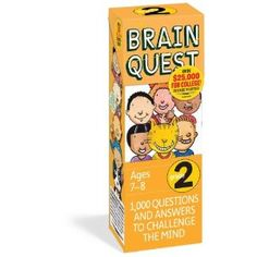Brain Quest Grade 2, revised 4th edition: 1,000 Questions and Answers to Challenge the Mind. Price: 	$9.56