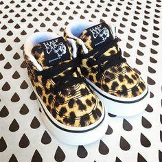 """VANS Sneaker """"Halfcab Leopard"""""""