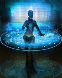 Liara - Mass Effect - Concept art, Sci-fiCoolvibe – Digital Art