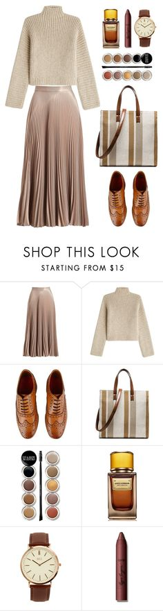 """Rosetta Getty"" by thestyleartisan ❤ liked on Polyvore featuring A.L.C., Rosetta Getty, Grenson, Giorgio Armani, D&G, BKE and tarte"