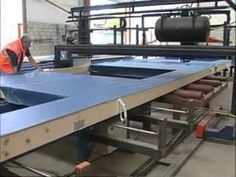 The factory quality controlled off-site construction process produces a building panel that is a