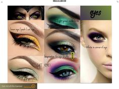 Inspiration images for eyes